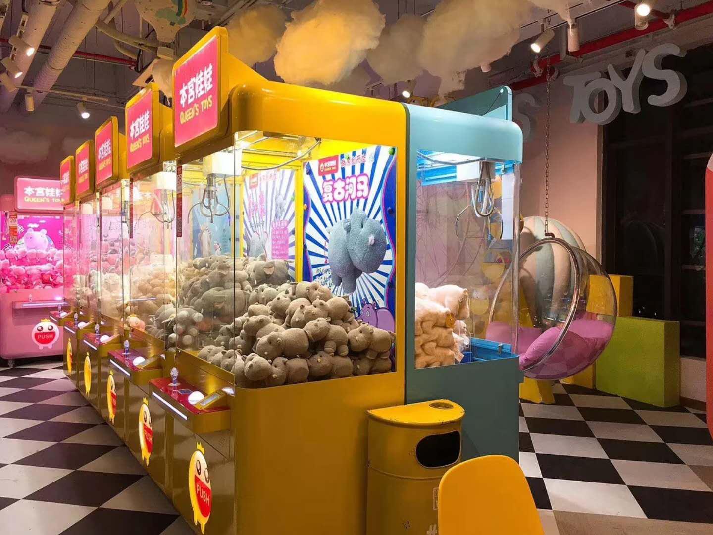 本宮娃娃機臺由谷微動漫訂制開發